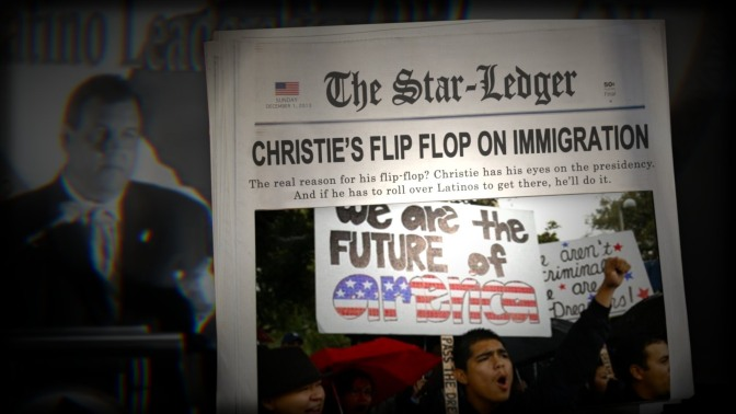 New Jersey Republican Gov. Chris Christie Reminds DREAMers They Are Not Citizens