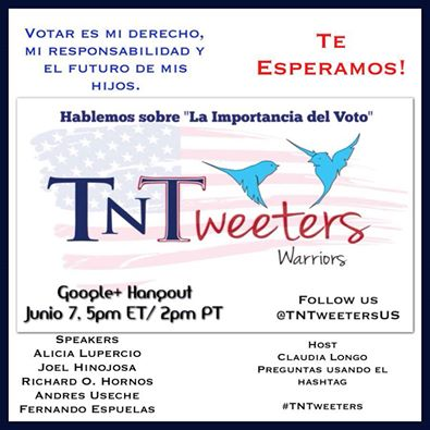Event Alert:  TNTweeters Google Hangout