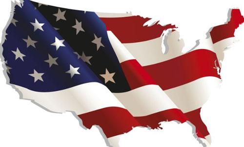 Vintage-American-Map-Flag