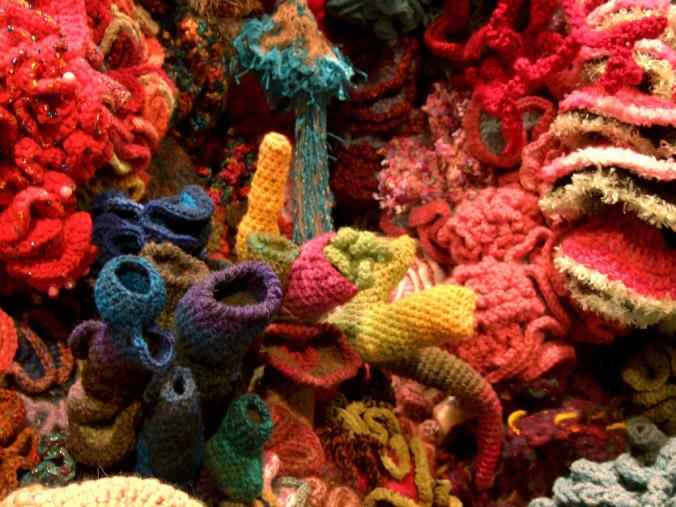 crochet coral reef