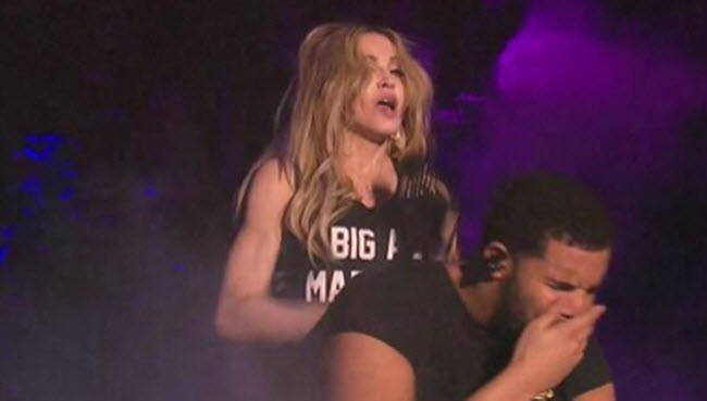 Drake grossed out Madonna
