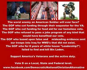 republicans cut veteran funding
